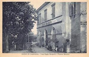 2773) BAGNI DI CASCIANA (PISA) VIALE REGINA MARGHERITA E PENSIONE ...