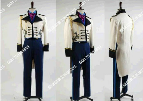 New! Disney Frozen Prince Hans Cosplay Costume Custom Made ZBY3