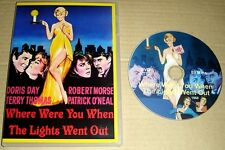 HD Quality Where were you When The Lights Went Out DVD Doris Day, Robert Morse