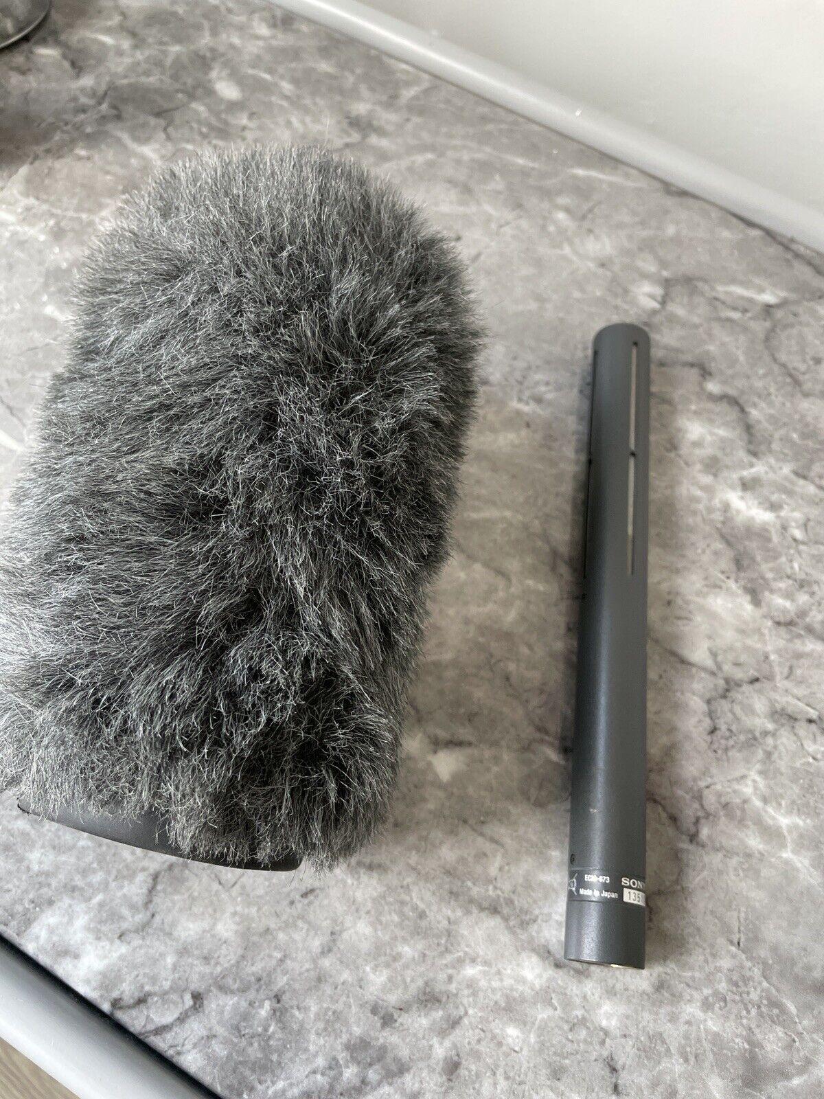 Sony ECM 673 Microphone And Rycote Softie