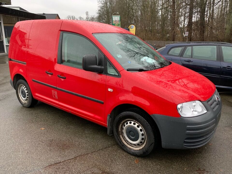 VW Caddy 1,6 Van Benzin modelår 2007 km 46000 ABS True airbag
