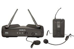 PROEL-WM202H-UHF-sistema-microfono-lavalier-headset-wireless-x-live-karaoke-ecc