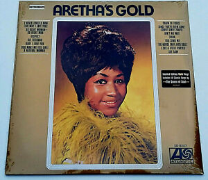 RSD-2019-Aretha-Franklin-12-034-LP-Gold-Vinyl-Best-Of-incl-Respect-Record-Store-Day