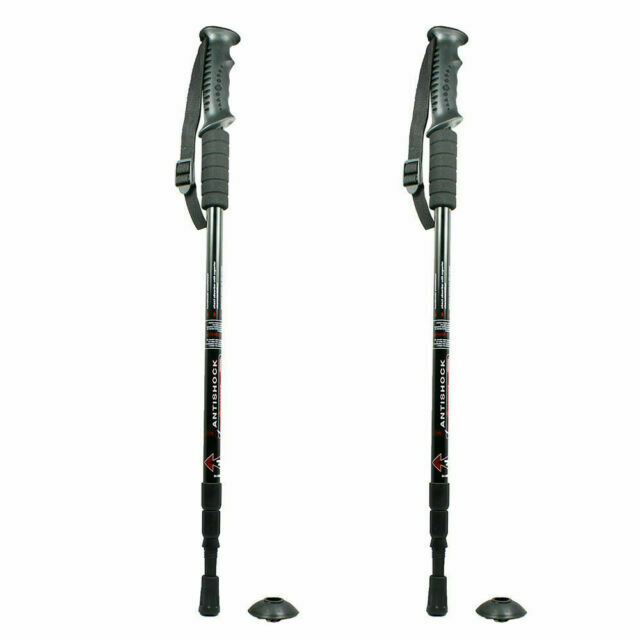 2x Outdoor Rubber Tip End Cap Hammers Trekking Pole Hiking Stick  I OQF