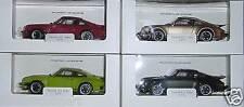 Porsche 911 Turbo 1975 - Set in 4 Farben - Welly 1:24 Museum Edition - fabrikneu