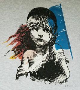 Les-Miserables-London-1986-West-End-Musical-T-shirt-Broadway-Opera-XL