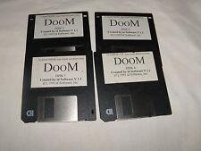 """Doom V 1.1  - 3.5"""" floppy disks 1993"""