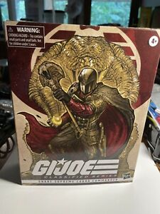 2020 SDCC G.I. Joe Classified Series Snake Supreme Cobra Commander Hasbro NIB
