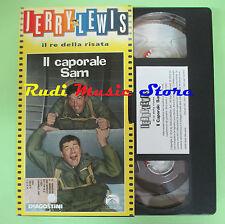 film VHS cartonata IL CAPORALE SAM Jerry Lewis Il re della risata (F77) no dvd