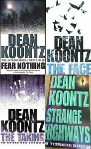 Dean-Koontz-4-LIBRO-Set-NUOVO-FREEPOST-UK