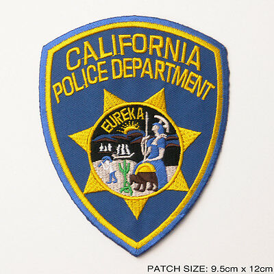 "CALIFORNIA POLICE DEPARTMENT (HIGHWAY PATROL) - Large 5"" U.S. CHiPs Patch"