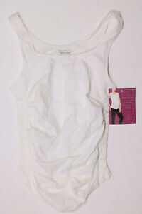 New Womens Maternity Cami Tank Top Racerback BeMaternity NWT Size sz XS S