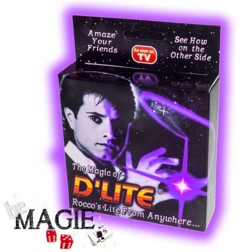 Ghost light - Faux pouce Lumineux Tour de Magie 2 x D/'lite VIOLET 1 Paire