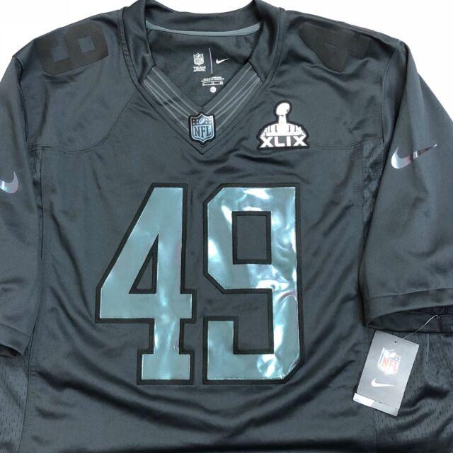 fe20b9d13 Nike Super Bowl 49 XLIX Football Jersey Patriots Seahawks Mens XL ...