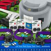Pet Fence Petsafe Wireless 3 Dog Pif-275 Free Purple Collar Dog System Pif-300