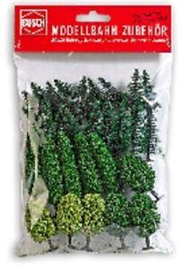 Busch-9759-N-Gauge-Tt-30-Trees-Sorted-30-80-MM-High-New-Original-Packaging