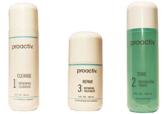 Proactiv 120 day 3pc Kit Proactive FREE PRIORITY SHIPPING 8/2018 & 4/2019