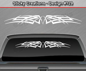 Design #128 Tribal Celtic Knot Windshield Decal Rear Window Sticker Graphic Car