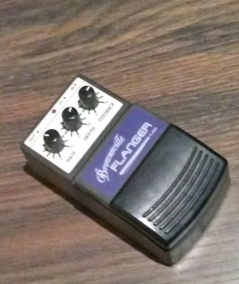 braunsville Flanger Effect pedal for a guitar
