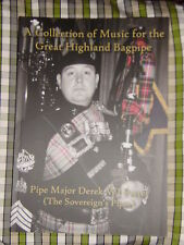 MUSIC FOR THE HIGHLAND BAGPIPE BOOK PIPE MAJOR DEREK WJ POTTER tunes