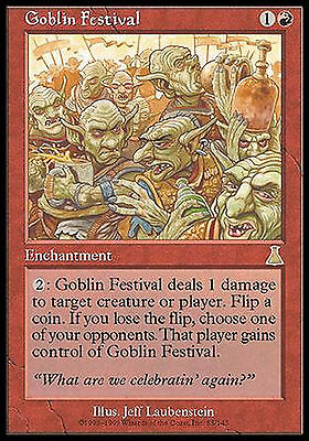 Goblin Festival EX PLAYED Urza's Destiny MTG Magic Cards Red Rare