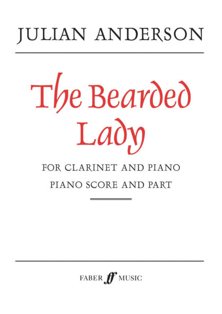 The Bearded Lady Solo Piano Learn to Play CLARINET SONGS FABER Music BOOK