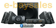 LOGITECH Z906 BLUETOOTH THX 5.1 DTS DOLBY HD TV PC XBOX PS4 WIRELESS SPEAKERS