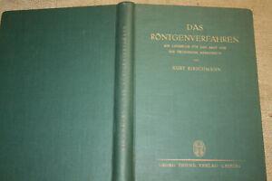 Fachuch Röntgen, Röntgenapparate, Röntgenbilder, Röntgentechnik, Verfahren 1930