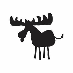Multiple Color /& Sizes ebn460 Moose Mountain Vinyl Decal Sticker
