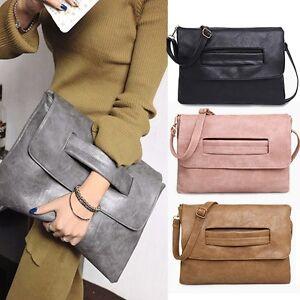 Image is loading Fashion-Envelope-Clutch-Crossbody-Bag-PartyEvening-Vintage- Women- b3797288d5e08