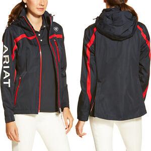 Ariat® Ladies Team II Waterproof Jacket Navy