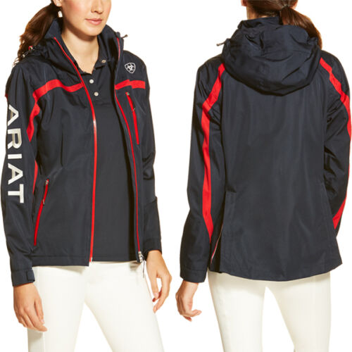 Ariat Ladies m II Waterproof Jacket Navy