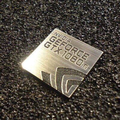 NVIDIA GeForce GTX 1060 PC Logo Adesivo Decalcomania Etichetta Custodia Laptop BADGE 426c