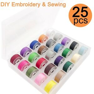 25pcs-Prewound-Bobbin-Thread-For-Embroidery-and-Sewing-Machines