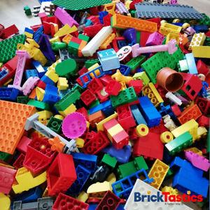 DUPLO-LEGO-1KG-65PC-039-S-KIDS-CREATIVITY-PACKS-BULK-X2-FIGS-amp-ANIMAL