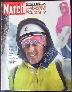 Paris-Match-No-722-of-1963-Mountain-Mountaineering-Alps-Bonatti-Grandes-Jorasses