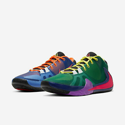 Nike Zoom Freak 1 Giannis What The Roots Multi Mens Basketball 2020 All NEW | eBay