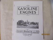 Sears Roebuck Co Gasoline Engines Catalog Sparta Economy Engine Catalog