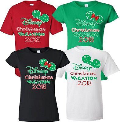 Disney Christmas Shirts.New Disney Christmas Family Vacation 2018 T Shirt Ebay