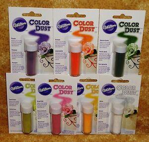 Details About Petal Dust Color Gum Paste Fondant Dusting Powder Wilton Edible Accents Flowers