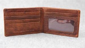 Leather-Bifold-Small-Wallet-W2S-ID-Men-slim-credit-card-Men-Billy-Goat-Designs