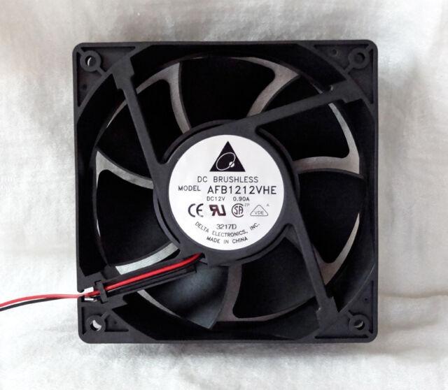 Delta AFB1212VHE 120mm x 38mm Very High Speed Fan 4 Pin Molex 148 CFM NEW