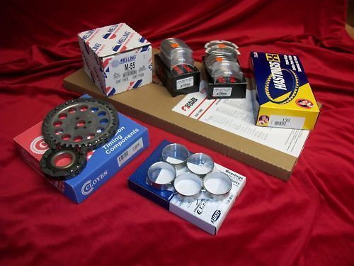 Chevy 4.3 4.3L MARINE Engine Kit Rings+Timing w//BAL SFT