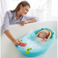 Fisher Price Bath Tub Baby Sling Cradle Toys Newborn Toddler Seat Bathing Water
