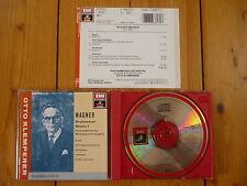 WAGNER : Orchestral Music I / Rienzi Tannhäuser Lohengrin Tristan OTTO KLEMPERER