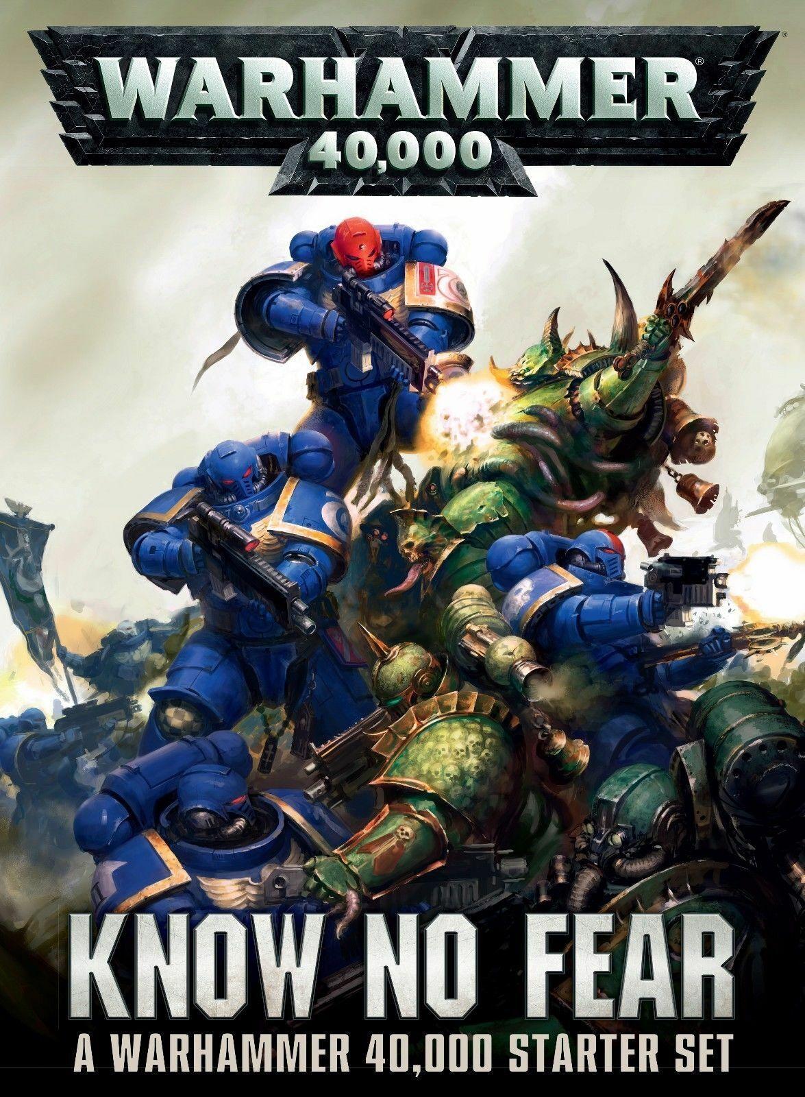 Warhammer 40k-saber sin miedo-un Warhammer 40k Estrellater Set-Nuevo En Caja-Envío Gratuito