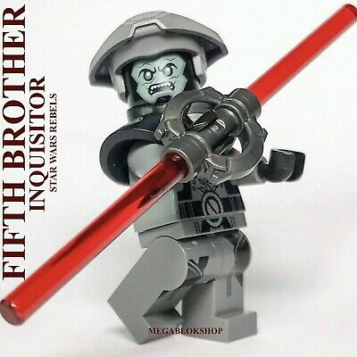 LEGO STAR WARS JEDI TEMPLE GUARD 7TH SISTER INQUISITOR 5TH BROTHER REBELS TVSHOW