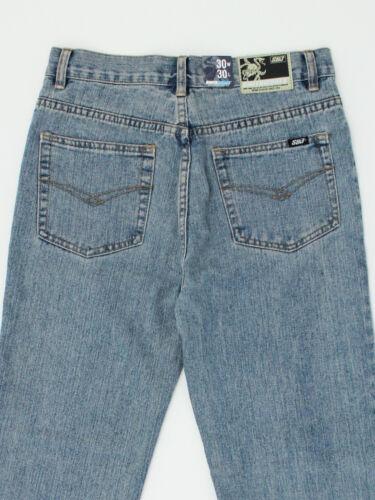 Smith /& Jones mens Size 30w 32w 30L 32L regular straight fit blue jeans