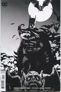Batman-Kings-of-Fear-2018-1-Bill-Sienkiewicz-B-amp-W-Variant-DC-Comics-SOLD-OUT