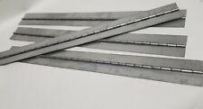 6 pc Aluminum Piano Hinge 6 x 1-1//2 HOLES Cabinet//Door//Project//Furniture//Craft